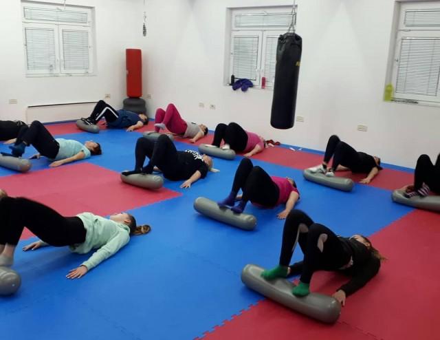 I cure na rekreaciji su vrijedno trenirale! Uključite se na trening rekreacije za žene, utorkom i četvrtkom u od 20:30 do 21:30.